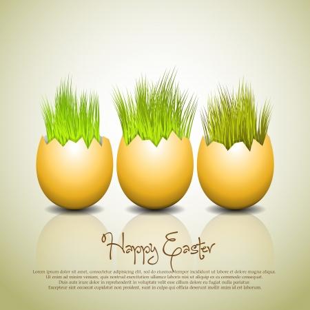 poult: Huevos de Pascua Vector Illustrator