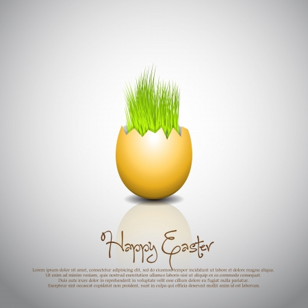 Easter egg - Vector Illustrator Vector