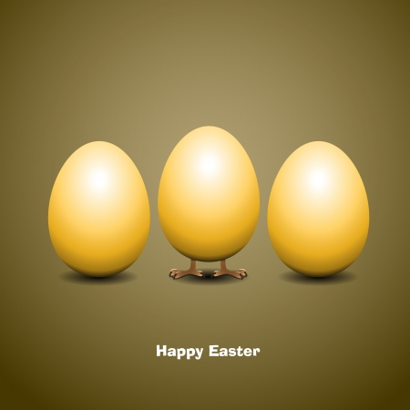 Easter eggs - Vector Illustrator Vector