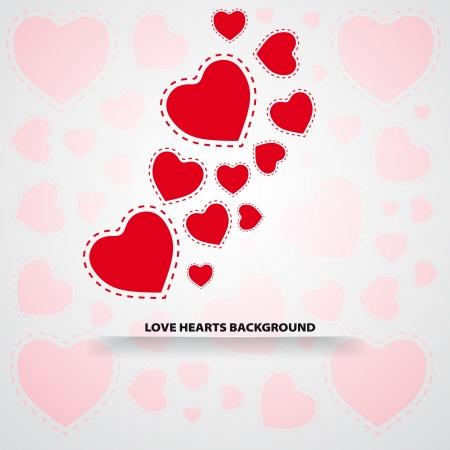 corazones de amor: Fondo de amor corazones
