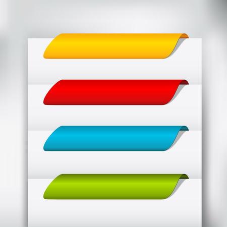 Web buttons template