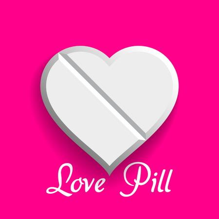 gu�rir: Vecteur amour Pill, Valentine rem�de