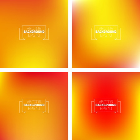 Abstract colorful blurred backgrounds. Elements for your website Vector