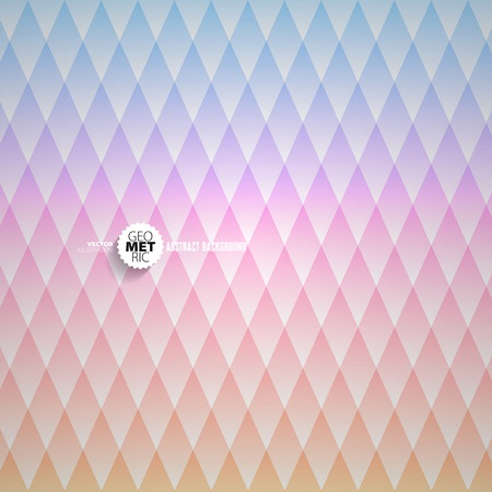 diamond background: Abstract colorful bright Diamond background - vector Illustration