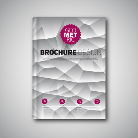 catalog design: Abstract brochure or book, design template