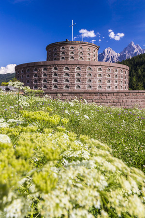 bolzano province: War memorial, Innichen, Italy