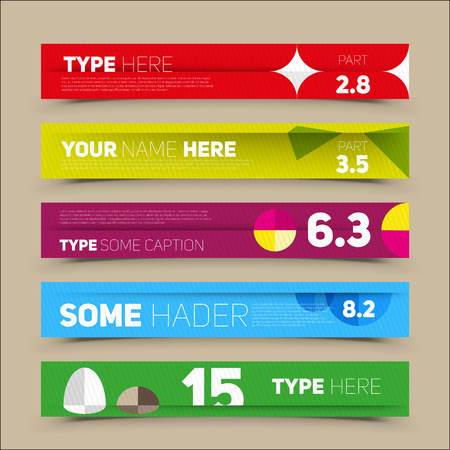 numbers clipart: Modern infographics options banner. For workflow layout, number options, web design. Vector illustration