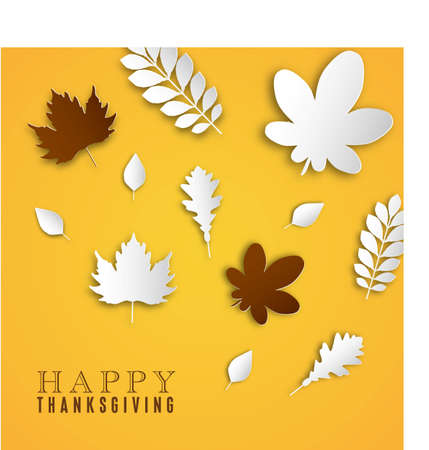 Autumn background. Happy Thanksgiving