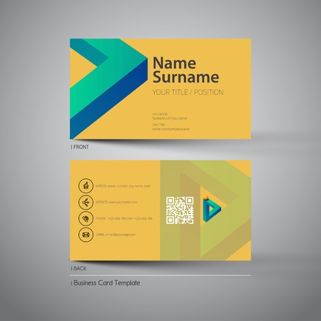 Modern simple business card template with logo symbol royalty free modern simple business card template with logo symbol stock vector 48144702 flashek Images