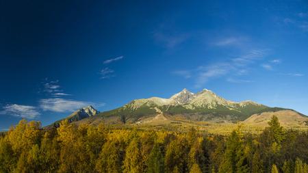 tatras: High Tatras autumn view, Slovakia