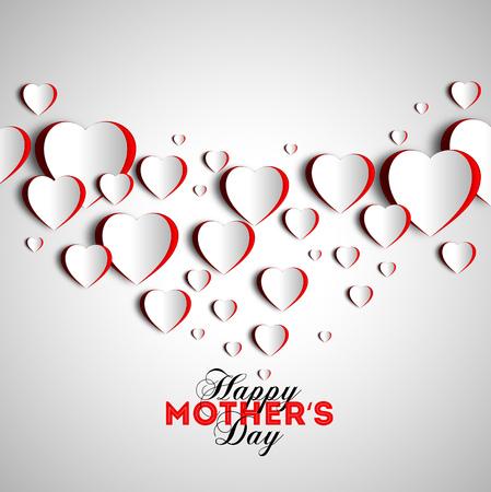 illustratio: Happy mother day background, vector illustratio