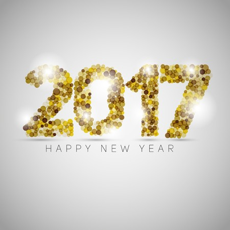 happy new year text: Happy new year 2017