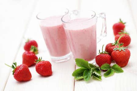 köstliche Erdbeer-Smoothie - Essen und Trinken