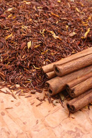rooibos with marigold petals sweet dates and cinnamon Stock Photo - 898318