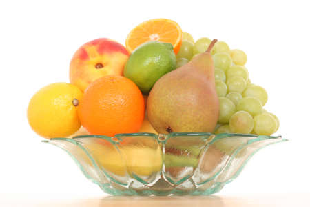 bowl full of various fresh fruits Stock Photo - 1781204