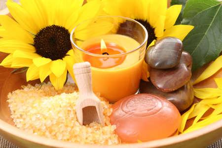 bath salt and glycerine soap - beauty treatment photo