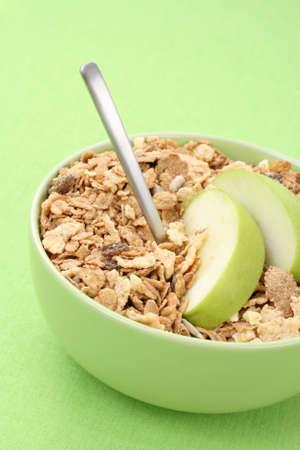 bowl full of musli - healthy breakfast photo