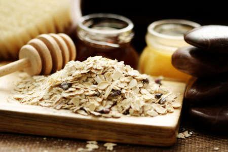 oatmeal: harina de avena y miel - tratamientos de belleza