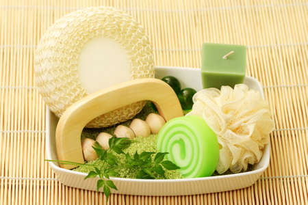 all you need to have great bath - beauty treatment Stock Photo - 5287765