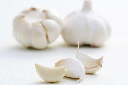 closeups: close-ups of garlic - food and drink