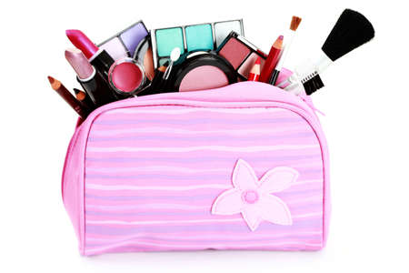 all you need to have lovely make-up on white - beauty treatment photo