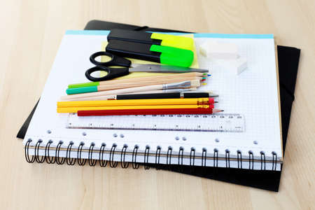 all you need to go to school - school time Stock Photo - 7277814