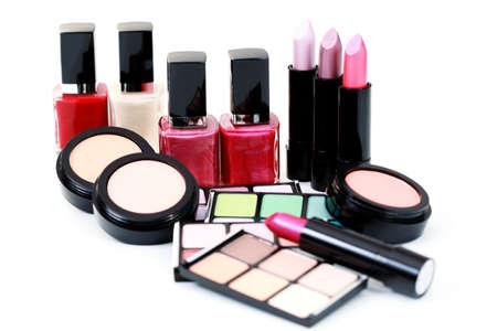 stage makeup: tutto ci� che devi avere perfetta compongono-- trattamento di bellezza Archivio Fotografico