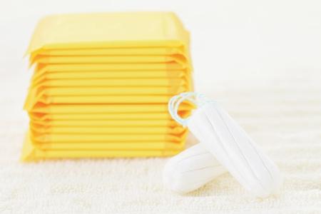 sanitary napkins and tampons: sanitary tampon and towel - beauty treatment