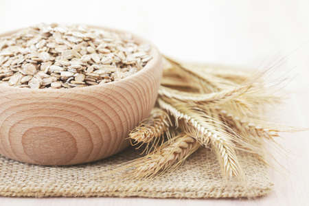 bowl full of oats - food and drink Stock Photo - 8874391