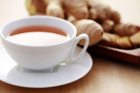 ingefära: cup of ginger tea - food and drink