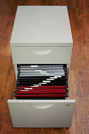 file cabinet in the office - business photo