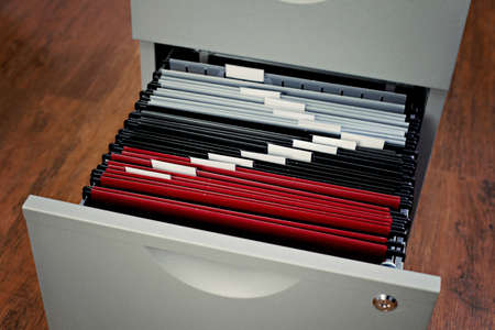 file cabinet in the office - business Banque d'images