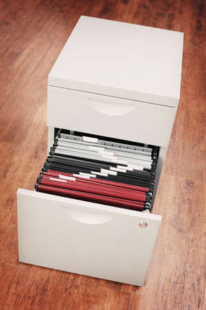 file cabinet in the office - business Stock Photo - 9015970