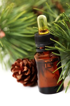 Flasche Tanne ätherisches Öl - Beauty-Behandlung