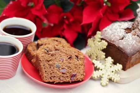 homemade gingerbread cake - sweet food
