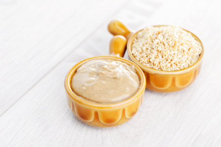 homemade tahini - food and drink Banque d'images
