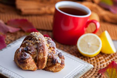 polish traditional Saint Martin's croissants rogal swietomarcinski pastry