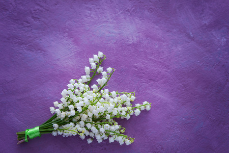 lovely bouquet of lily of the valley - flowers and plants Banque d'images