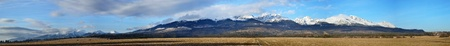 tatras: Spring High Tatras panorama in Slovak republic