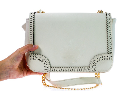 women bag isolated on white background