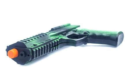 gun toy isolated on white
