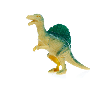 dinosaurs  on white background