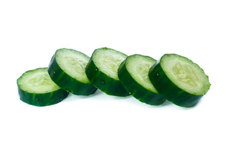 cucumber isolated on white background Stock Photo