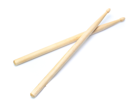 Drum stick isolated on white background 写真素材
