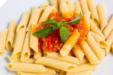 Closeup of pasta