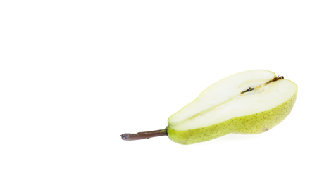 Fresh pears green isolated on white Reklamní fotografie