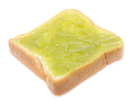 Sliced bread isolated on a white
