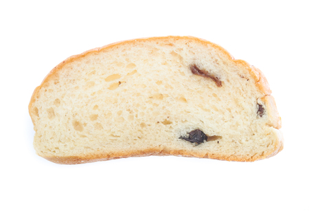 Sliced bread isolated on a white background Stockfoto