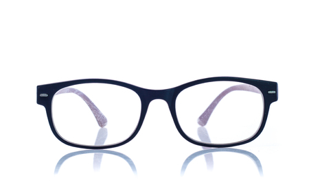 Eye Glasses Isolated on White background