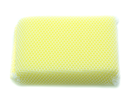 Sponges isolated on the white